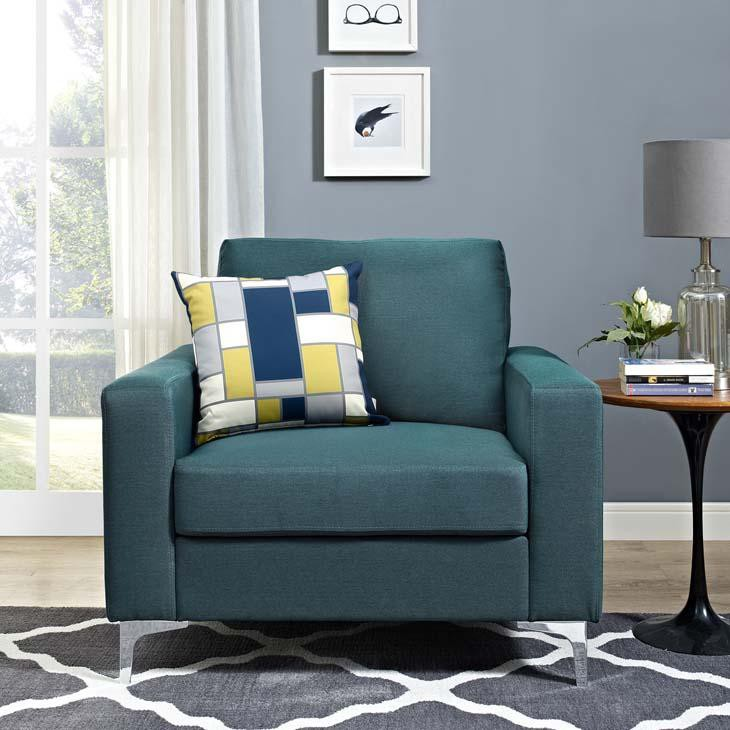 Alison Upholstered Armchair - living-essentials