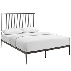 Tarrah Queen Platform Bed - living-essentials
