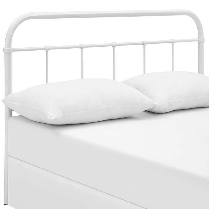 Serenity Full Steel Headboard White Free Shipping