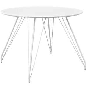 Saffire Hairpin Circular Dining Table Free Shipping
