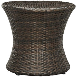Sting Outdoor Patio Side Table Brown Free Shipping