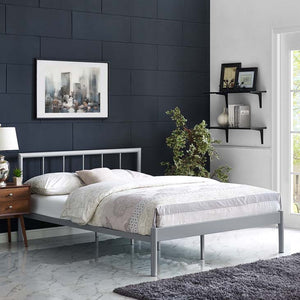 Gerri Full Bed Frame Gray Frames Free Shipping