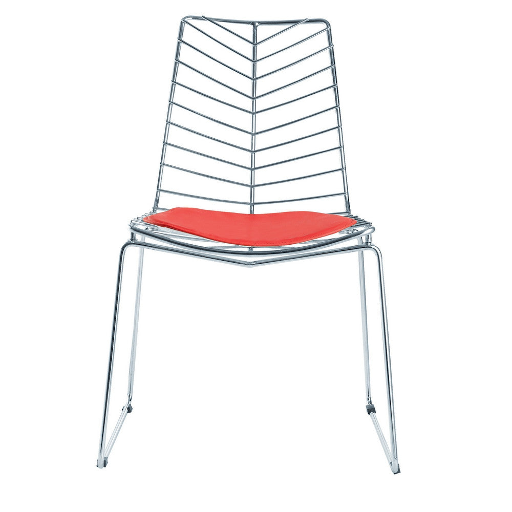 bertoia style chair. Bertoia Style Wire Leaf Wendover Dining Chair