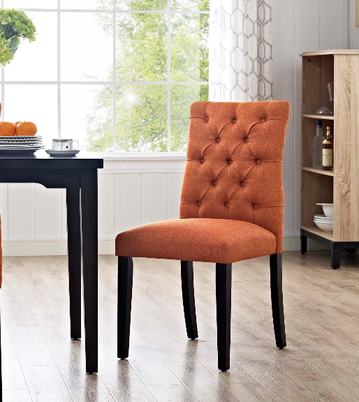 Duchess Fabric Dining Chair - living-essentials
