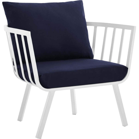 Radiant Outdoor Patio Aluminum Armchair - living-essentials