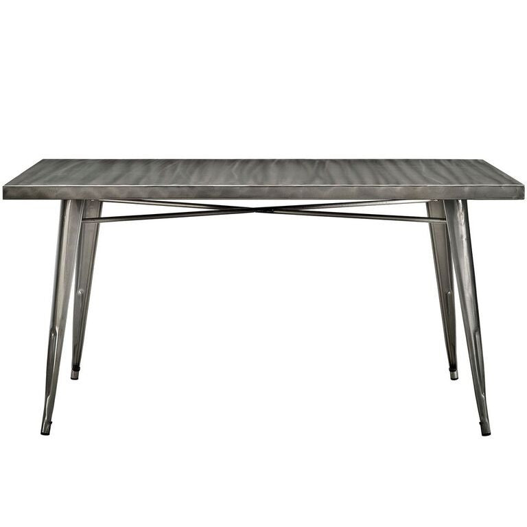 Alma Gunmetal Dining Table - living-essentials
