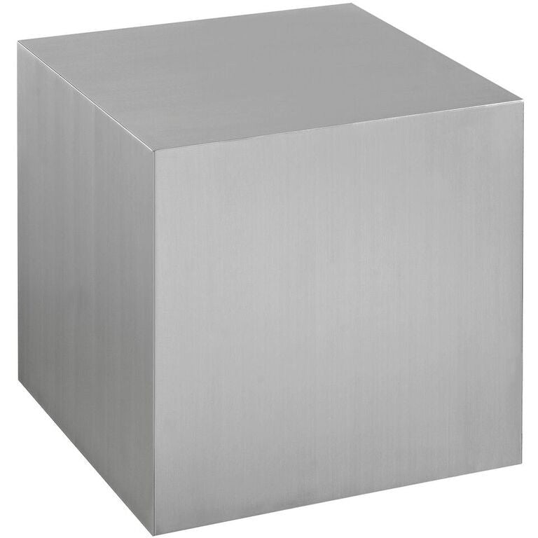 Block Stainless Steel Side Table - living-essentials