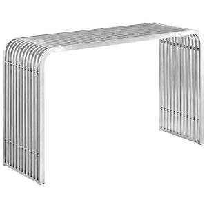 Rail Stainless Steel Console Table Free Shipping
