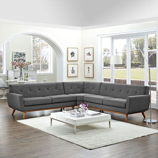 Queen Mary L-Shaped Sectional Sofa