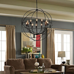 "Nuclear 39.5"" Chandelier - living-essentials"