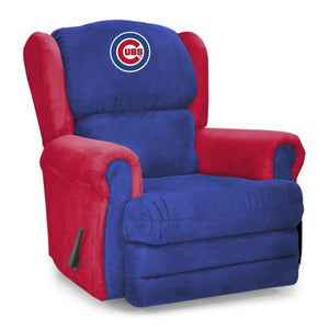 Chicago Cubs Big & Tall Coach Recliner