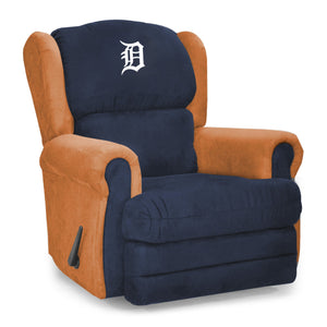 Detroit Tigers Big & Tall Coach Recliner