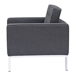 Florence Knoll Style Wool Armchair Chairs Free Shipping