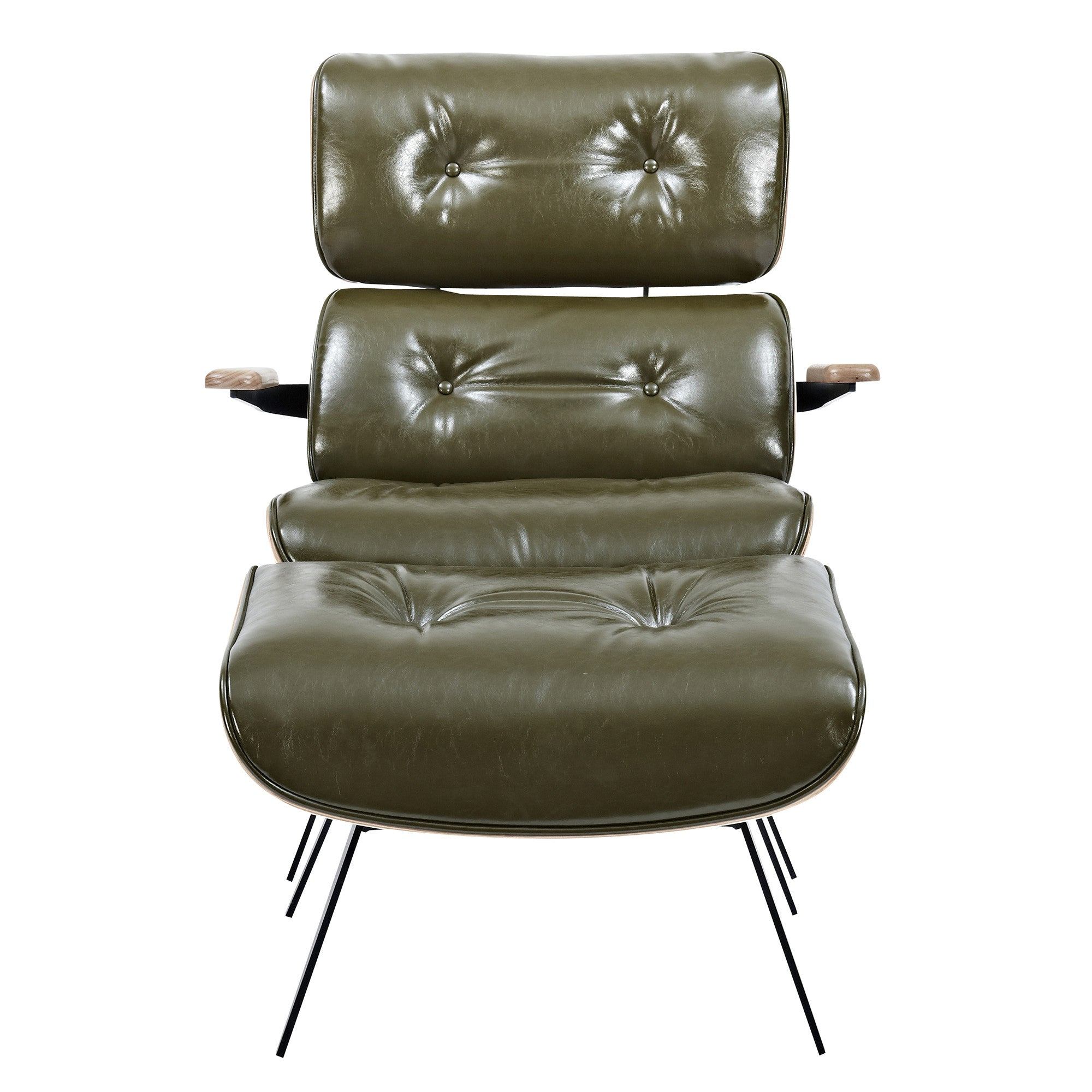 Earl Lounge Chair And Ottoman Emfurn