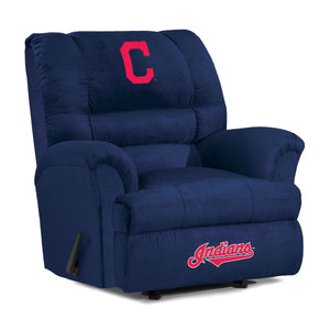 Cleveland Indians Big & Tall Microfiber Recliner