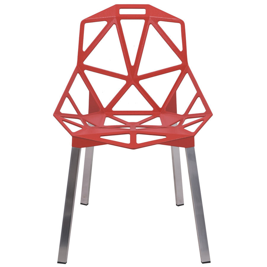 Daphne Red Indoor/Outdoor Dining Chair