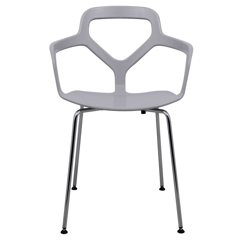 Carmelo Light Grey Armchair - living-essentials