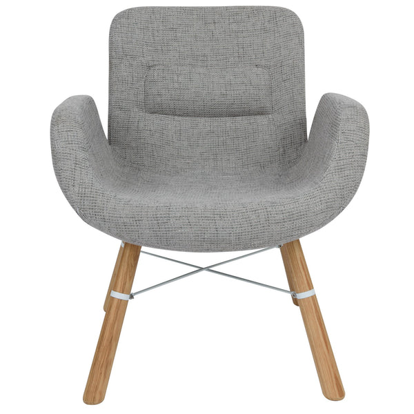 Milton Grey Accent Chair - living-essentials