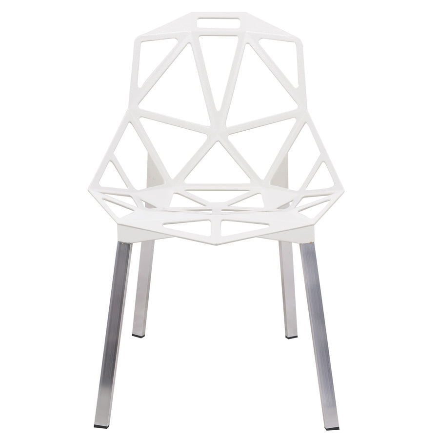 Daphne White Indoor/Outdoor Dining Chair