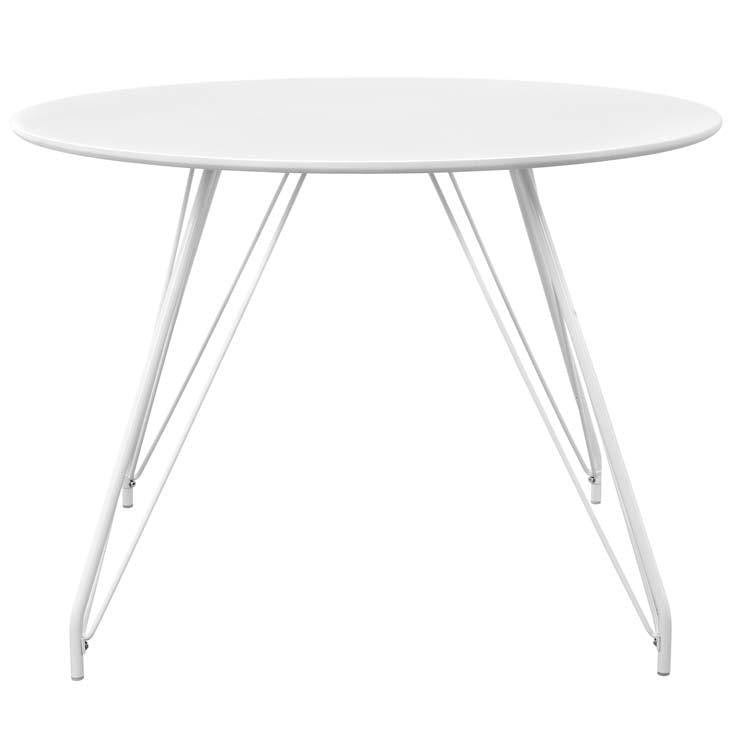 Saffire Hairpin Circular Dining Table - living-essentials