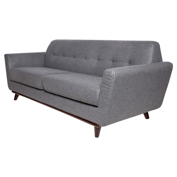 Luca Light Grey Wool Sofa - living-essentials