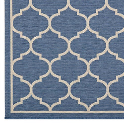 Avery Moroccan Quatrefoil Trellis 5x8 Indoor and Outdoor Area Rug - living-essentials