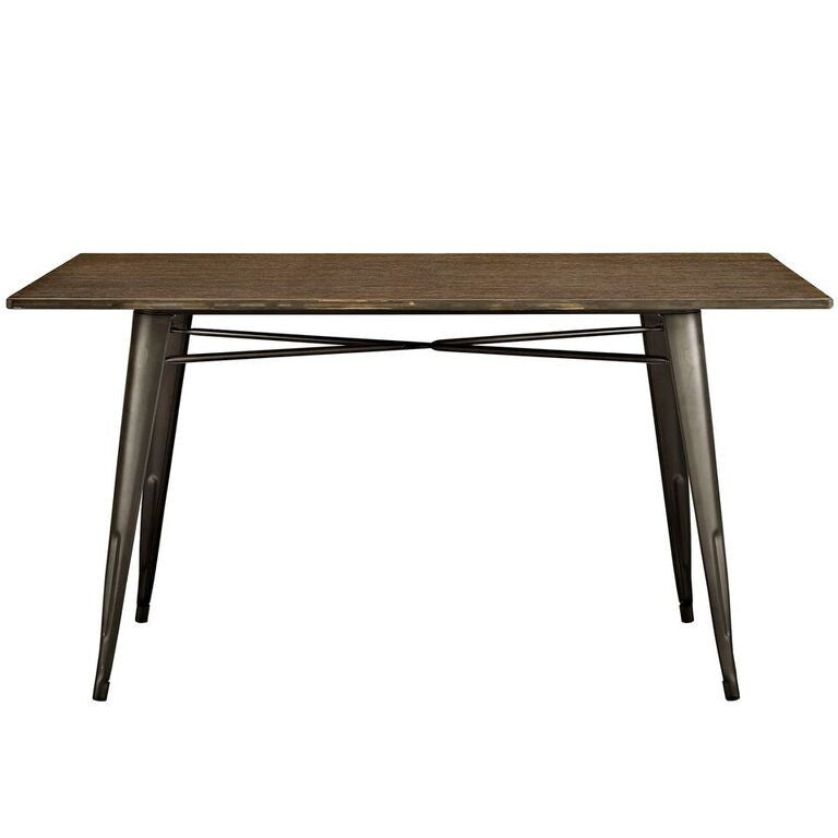 "Alma 59"" Rectangle Wood Dining Table"
