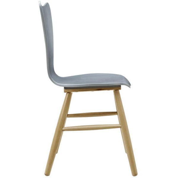 Caster Wood Dining Chair - living-essentials