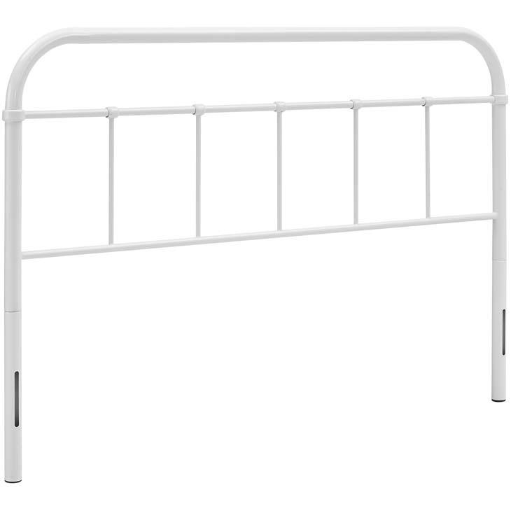 Serenity Full Steel Headboard - living-essentials