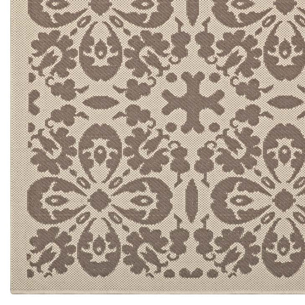 Arizona Vintage Floral Trellis 5x8 Indoor and Outdoor Area Rug - living-essentials
