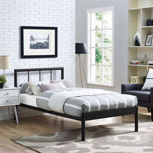 Gerri Twin Bed Frame Brown Frames Free Shipping
