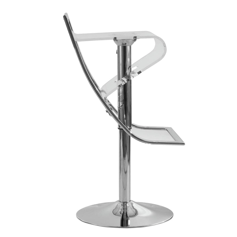 Nate Acrylic Bar/Counter Stool - living-essentials