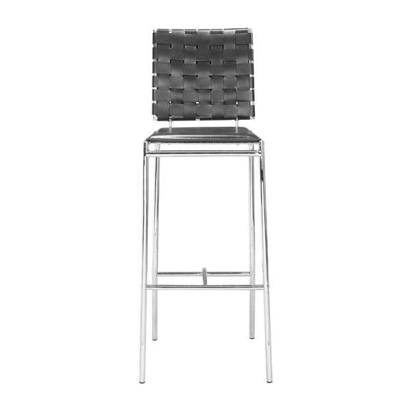 Intersect Black Bar Chair - living-essentials