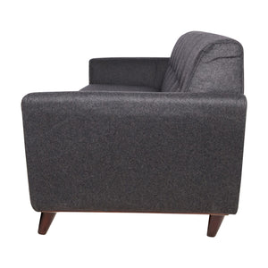 Luca Dark Grey Wool Sofa