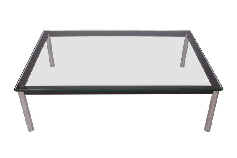 Remi Rectangular Glass Coffee Table - living-essentials