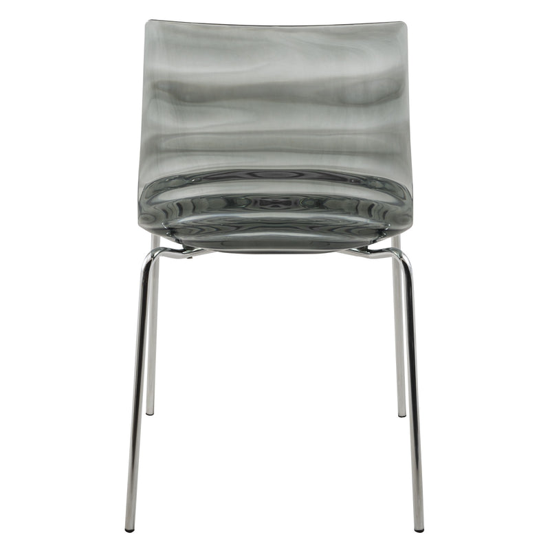 Asha Black Water-Drop Dining Chair - living-essentials