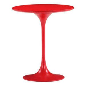 Tulip Style 20 Fiberglass Side Table Black Free Shipping
