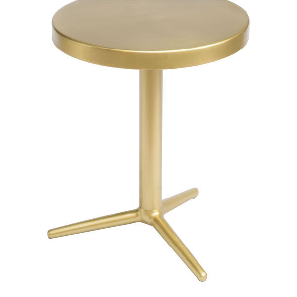 Denali Brass Accent Side Table - living-essentials