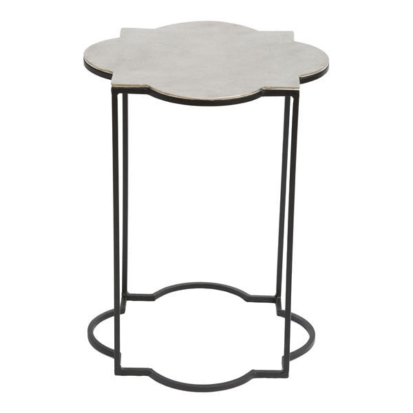 Grant Black & White Accent Side Table Set of 2 - living-essentials
