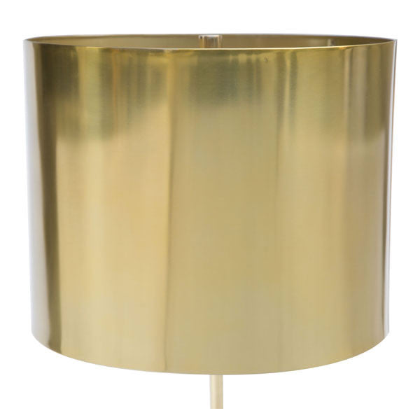 Manhattan Modern Brass Table Lamp - living-essentials