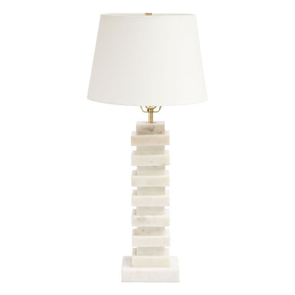 Erica White Table Lamp Lamps Free Shipping