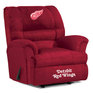 Detroit Red Wings® Big & Tall Microfiber Recliner