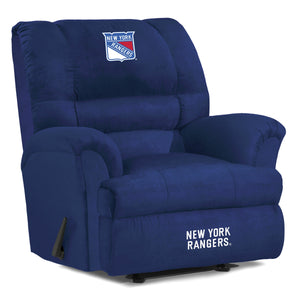 New York Rangers® Big & Tall Microfiber Recliner