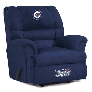 Winnipeg Jets® Big & Tall Microfiber Recliner