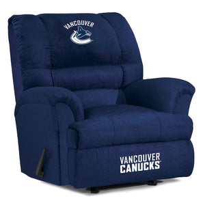 Vancouver Canucks® Big & Tall Microfiber Recliner
