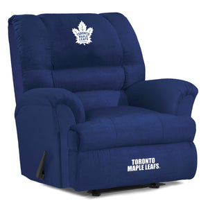 Toronto Maple Leafs® Big & Tall Microfiber Recliner
