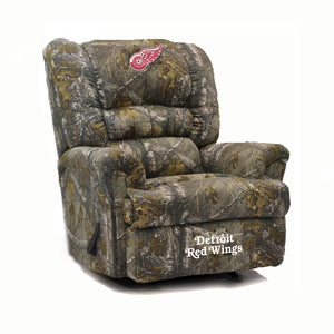 Detroit Red Wings® Big & Tall Camo Recliner
