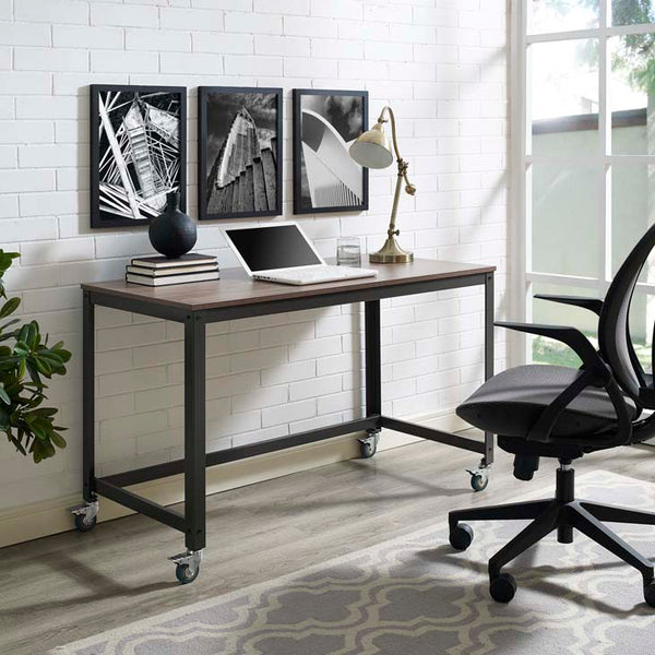 Vision Industrial Computer Office Desk - living-essentials