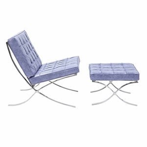 Barcelona Style Chair & Ottoman Chairs Free Shipping