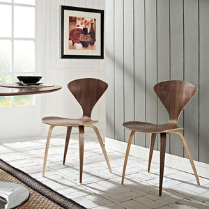 Norman Cherner Style Dining Side Chair Chairs Free Shipping
